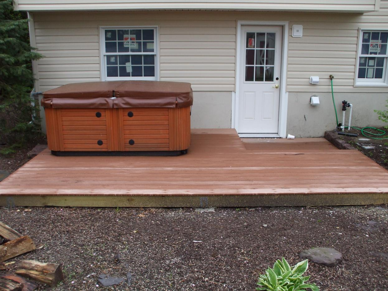 Impressive Hot Tub Ground Level Wood Deck 1246 x 935 · 203 kB · jpeg