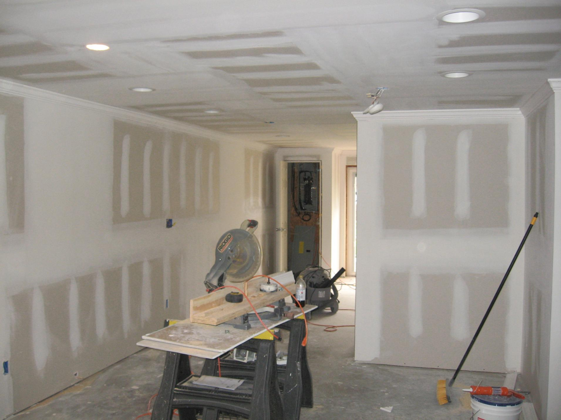 finished basement remodeling contractor talk