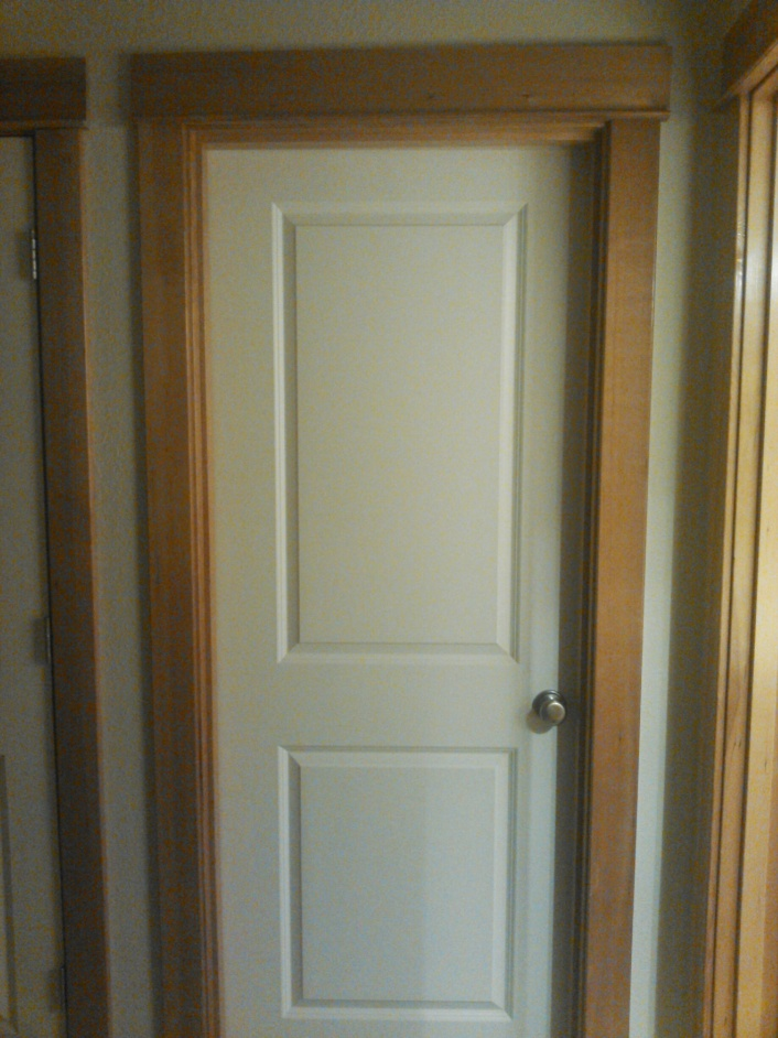 Does Stained Doors With White Moldings Work Door Trim
