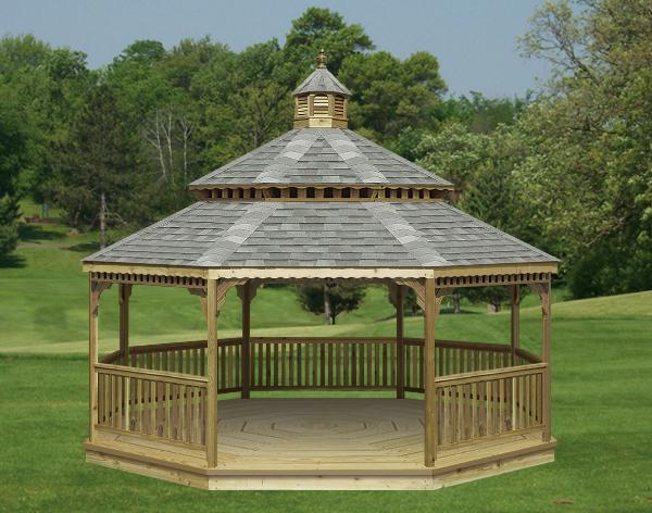 Octagon gazebo floor plans free garden shed plans uk 8x8 for 8 sided gazebo plans