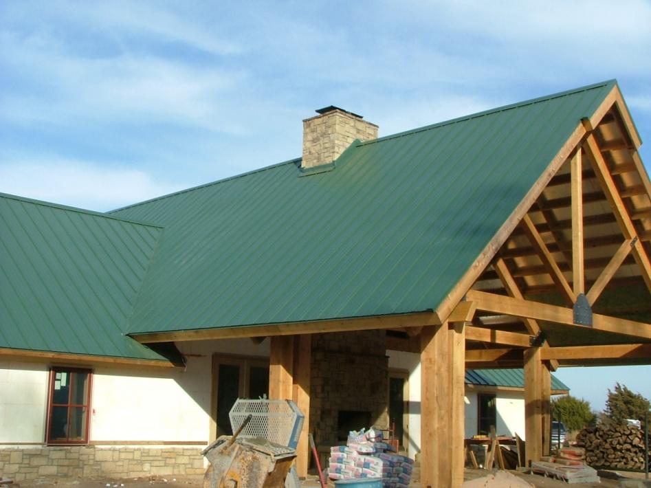 Metal Barn Siding On Roofs?