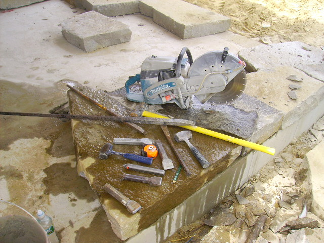Feather And Wedges - Masonry - Contractor Talk