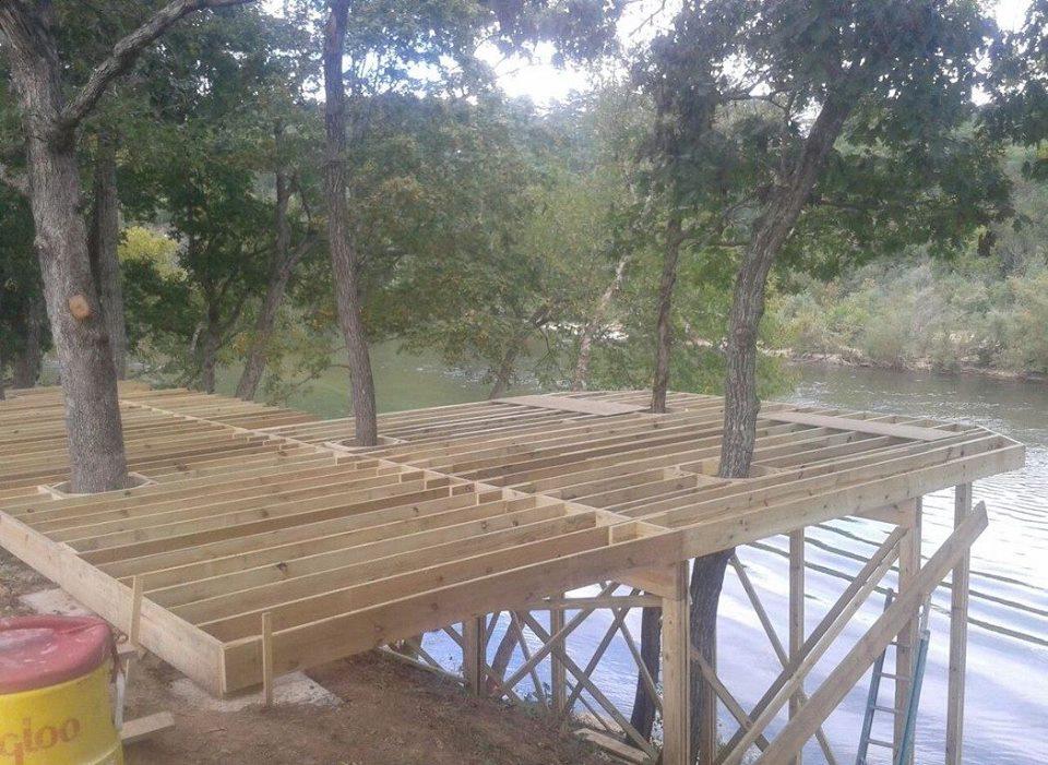 3 Tier Deck On Current River Decks Amp Fencing