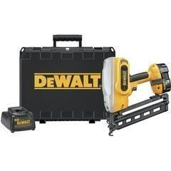 DeWALT DC618K XRP 18-Volt Cordless 1-1/4 Inch - 2-1/2 Inch 16 Gauge 20 Degree Angled Finish Nailer Kit DC618K