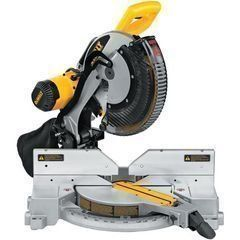 DeWalt Double Bevel Compound Sliding Miter Saw DW716