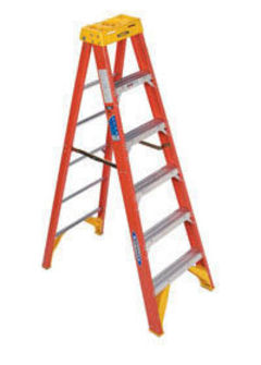 Werner 4' Fiberglass Step Ladder 6204