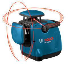 Bosch Dual-Axis Self-Leveling Rotary Laser GRL160DHV