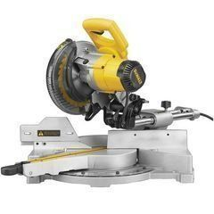 "DeWalt 8-1/2"" Single-Bevel Sliding Compound Miter Saw DW712"