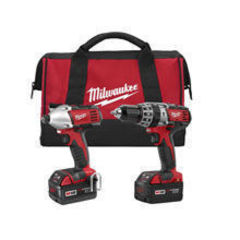 Milwaukee M18™ Cordless LITHIUM-ION 2-Tool Combo Kit  2697-22
