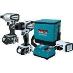 Makita Makita 18-Volt Compact Lithium-Ion Cordless 3-Piece Combo Kit  LCT306W