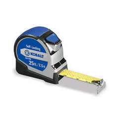 Kobalt Kobalt 25-ft Metric and SAE Tape measure KBSL21425