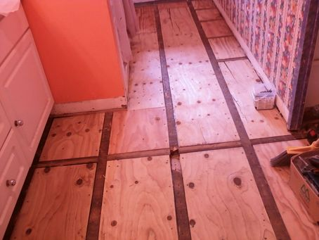 Tile To Match Existing Hardwood Floors Contractortalk
