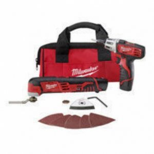 Milwaukee M12™ Cordless LITHIUM-ION 2-Tool Combo Kit  2496-22