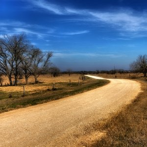 Texas Back Road