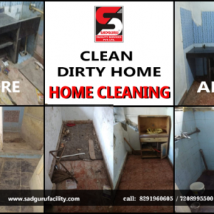 Home Deep Cleaning Services in Thane – Sadguru Facility