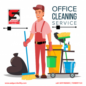 Office Deep Cleaning Services in Thane – Sadguru Facility