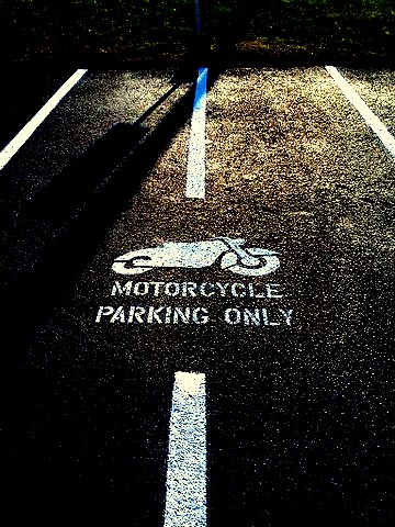 Motorcycle Parking Only Stencil for Parking lot Striping | For Purchasing Info e mail Tracy aaastripepro@gmail.com | Attn: Motorcycle Stencil