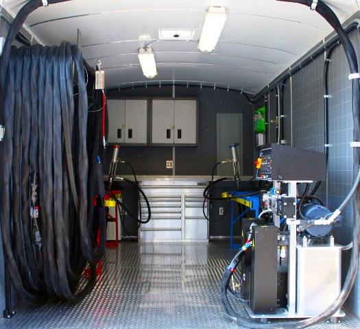 NuVERSA Spray Foam Rigs 530 full interior